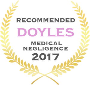 Doyles Recommended Medical Negligence 2017