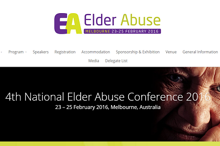 4th Annual Elder Abuse Conference, Melbourne