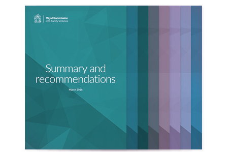 Royal Commission Report Into Family Violence