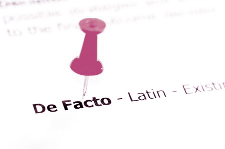 de facto relationships De facto couples who separate come under the auspices of the family law act, which requires the person making the application to prove that a de facto relationship existed for a period of at least two years and that separation occurred after 1 march 2009.