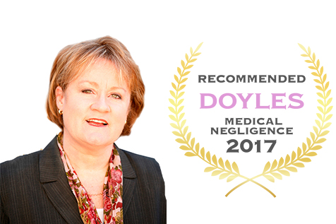 Catherine Henry Recognised In Doyles Guide 2017 Listing Of Recommended Plaintiff Medical Negligence Lawyers