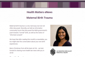 Health Law eNews