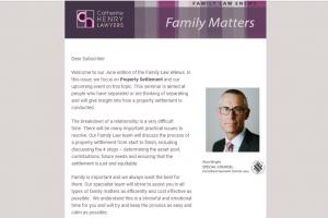 Family Law eNews