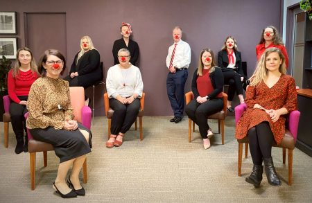 Catherine Henry Lawyers Supports Red Nose Day