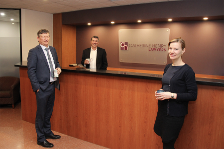 Two specialists expand law firm's 'health and relationship' client services